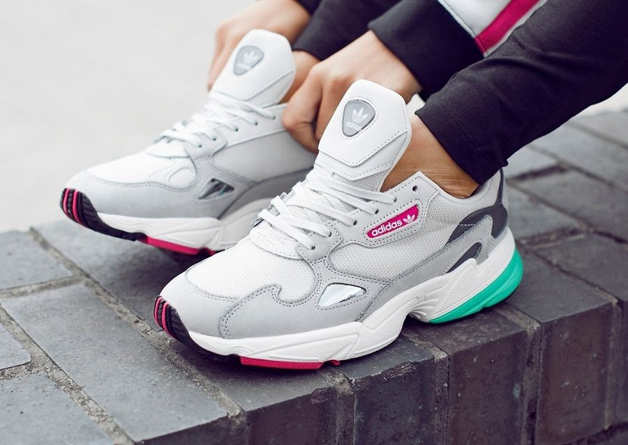 Adidas Falcon W Grey One #adidasoriginals #adidasfalcon ...