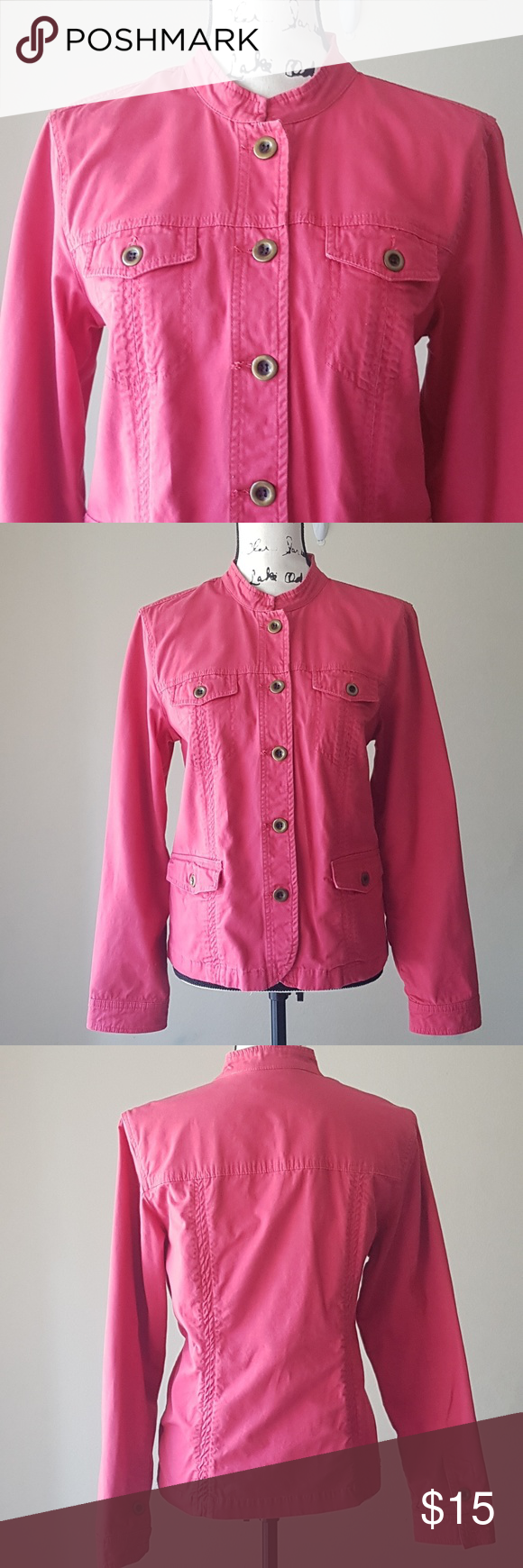c45ca5438976 Charter Club Pink Jacket Size M Jacket is in very good condition. Perfect  for the upcoming fall season. Charter Club Jackets   Coats