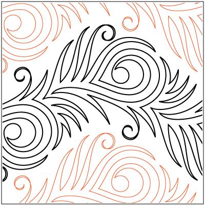 Urban Elementz | Pantographs | Peacock quilt, Machine