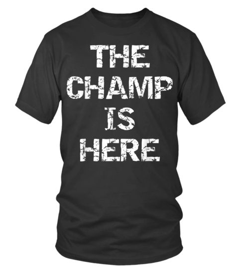 Relax The Fantasy Champ/'s Here T Shirt Funny Tee Football Baseball Draft Sports
