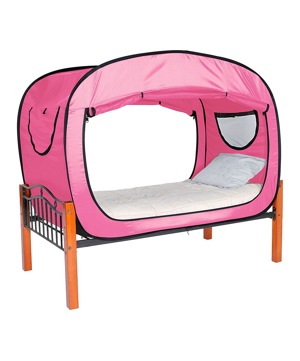 This Pink Bed Tent by Privacy Pop is perfect! zulilyfinds
