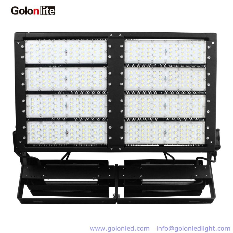 Led Stadium Fixture 800w 140lm W Outdoor Flood Lighting Ip66 Waterproof 5 Years Warranty Ledstadiumfixture Led Flood Lights Outdoor Flood Lights Flood Lights