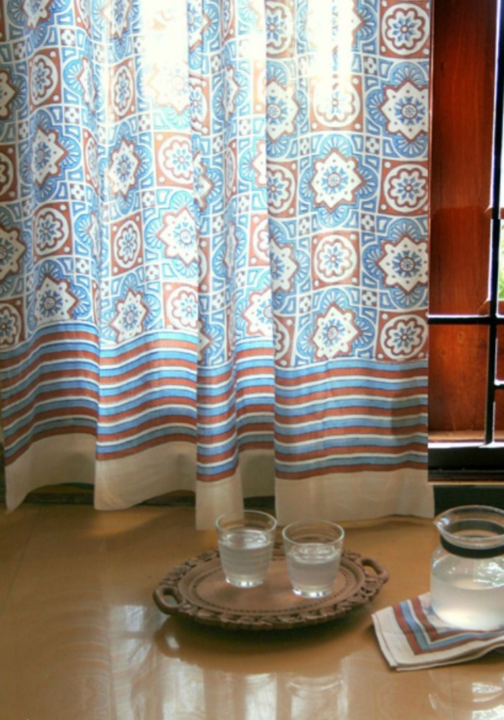 pin print home blackout best curtain moroccan curtains orange fashion darkening room