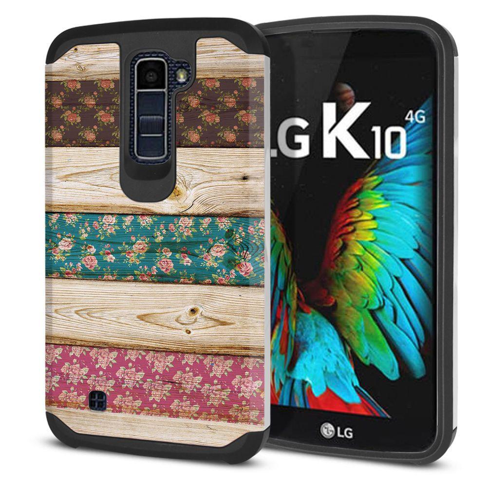 quality design 273c0 53e1e For LG K10 Premier LTE L62VL K428 K430 K420 Shock Proof Impact ...