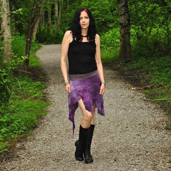 Aeracura Skirt  Boho Skirt  Womens Skirt  Short Skirt