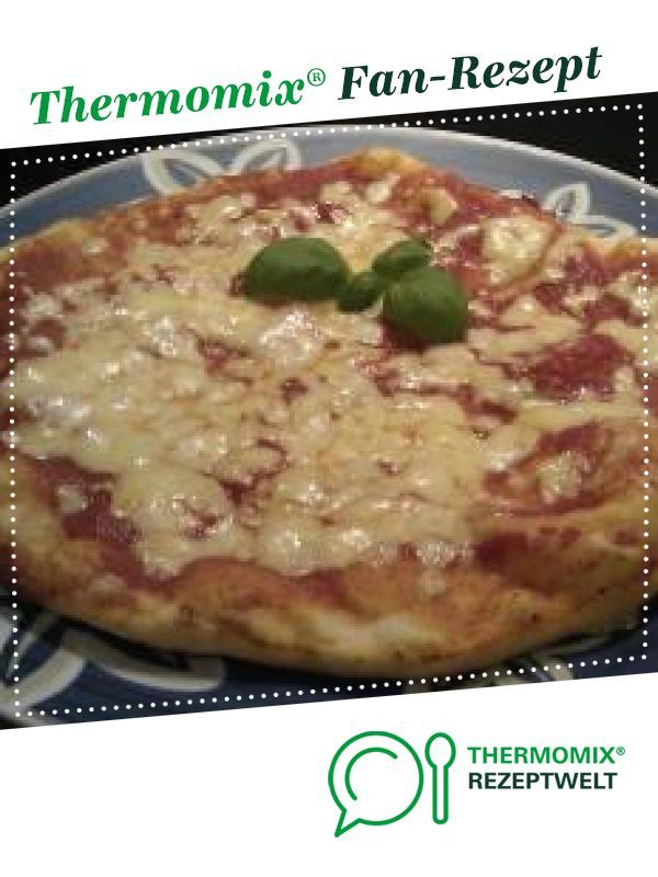 Pizzateig wie aus der Pizzeria #pizzateig