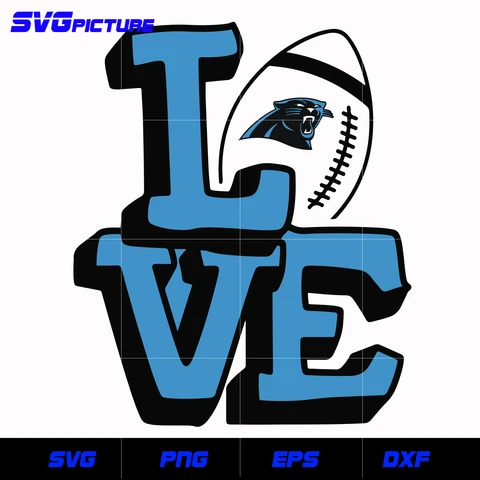 Carolina Panthers Home svg,nfl svg, eps, dxf, png, digital