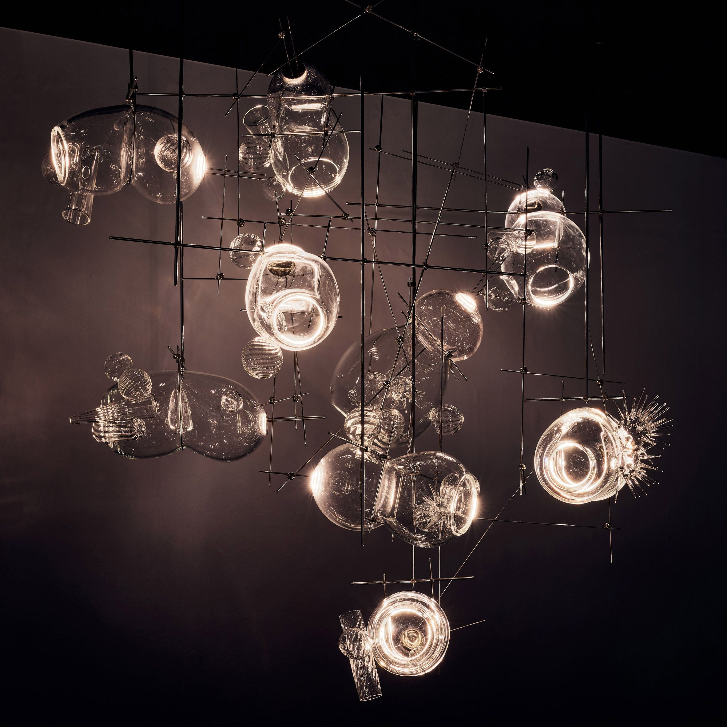 Contemporary Lighting With Shapes And
