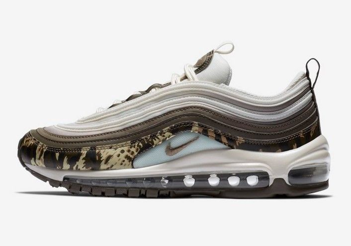 Nike Air Max 97 Premium Animal Baskets Basses Pierre de
