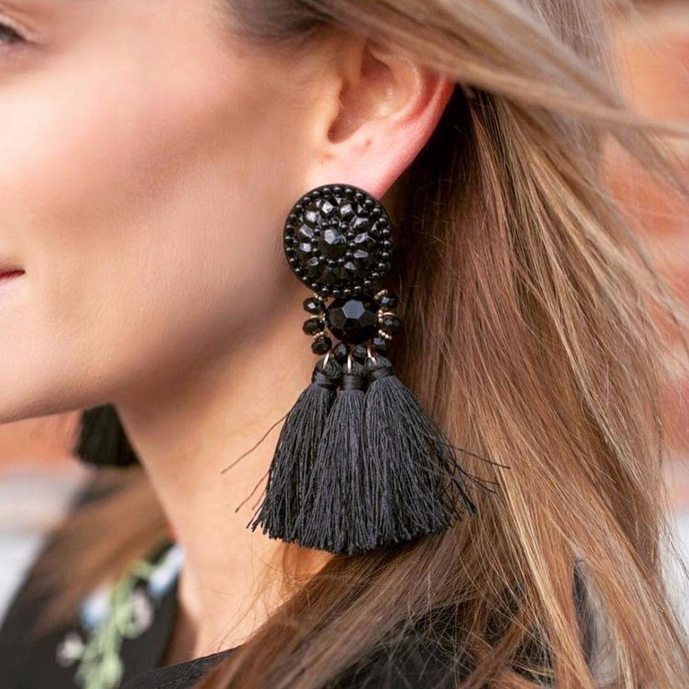 boucle d'oreille pendentif femme