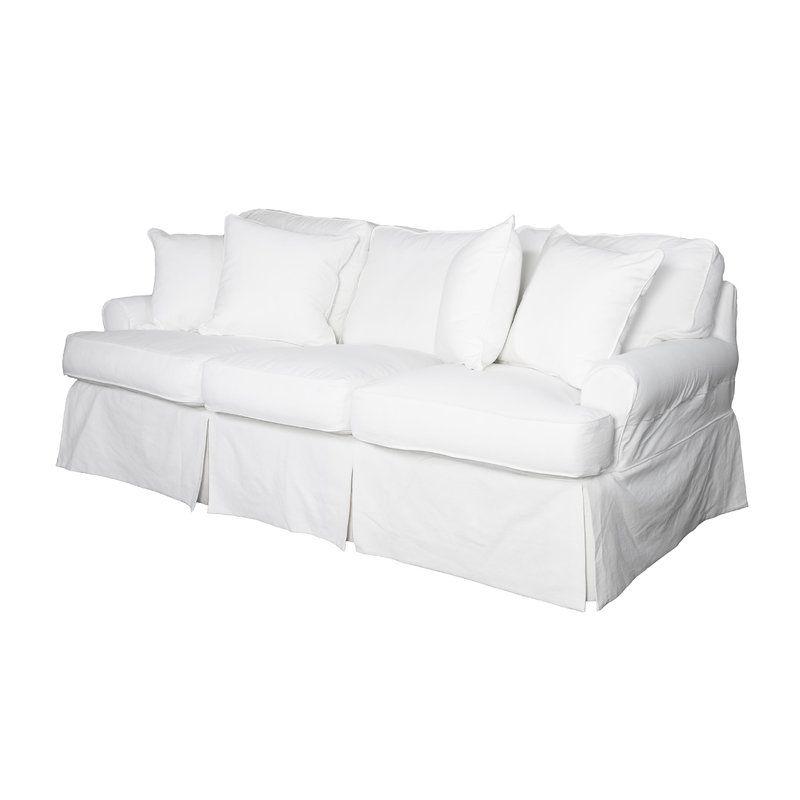 Rundle T Cushion Sofa Slipcover Fitness Room In 2019 Cushions On Sofa Slipcovers Best Leather Sofa