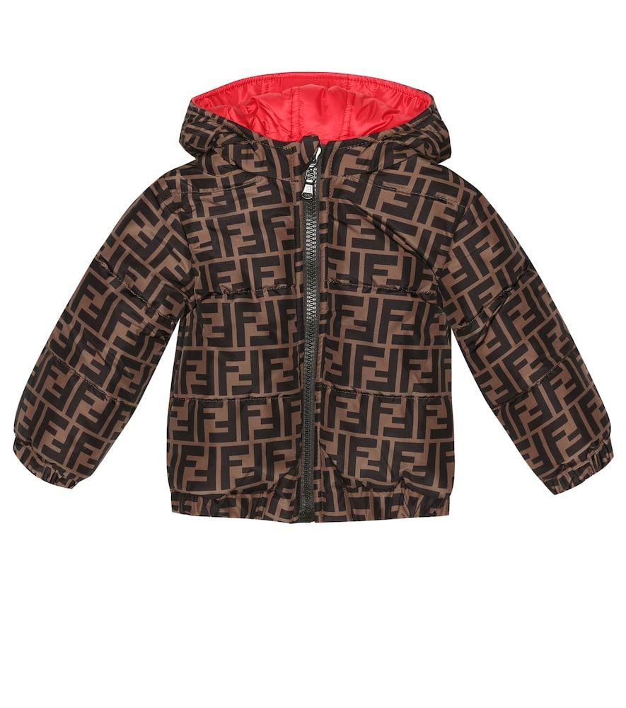 Fendi Baby Reversible Puffer Jacket Fendi Cloth Puffer Jackets Jackets Fendi Clothing [ 1000 x 885 Pixel ]