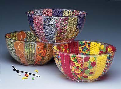 """Ideas For Filling Decorative Bowls Fillabowlclear Decorative Bowlfill With Candy Clear 5 34""""h"""
