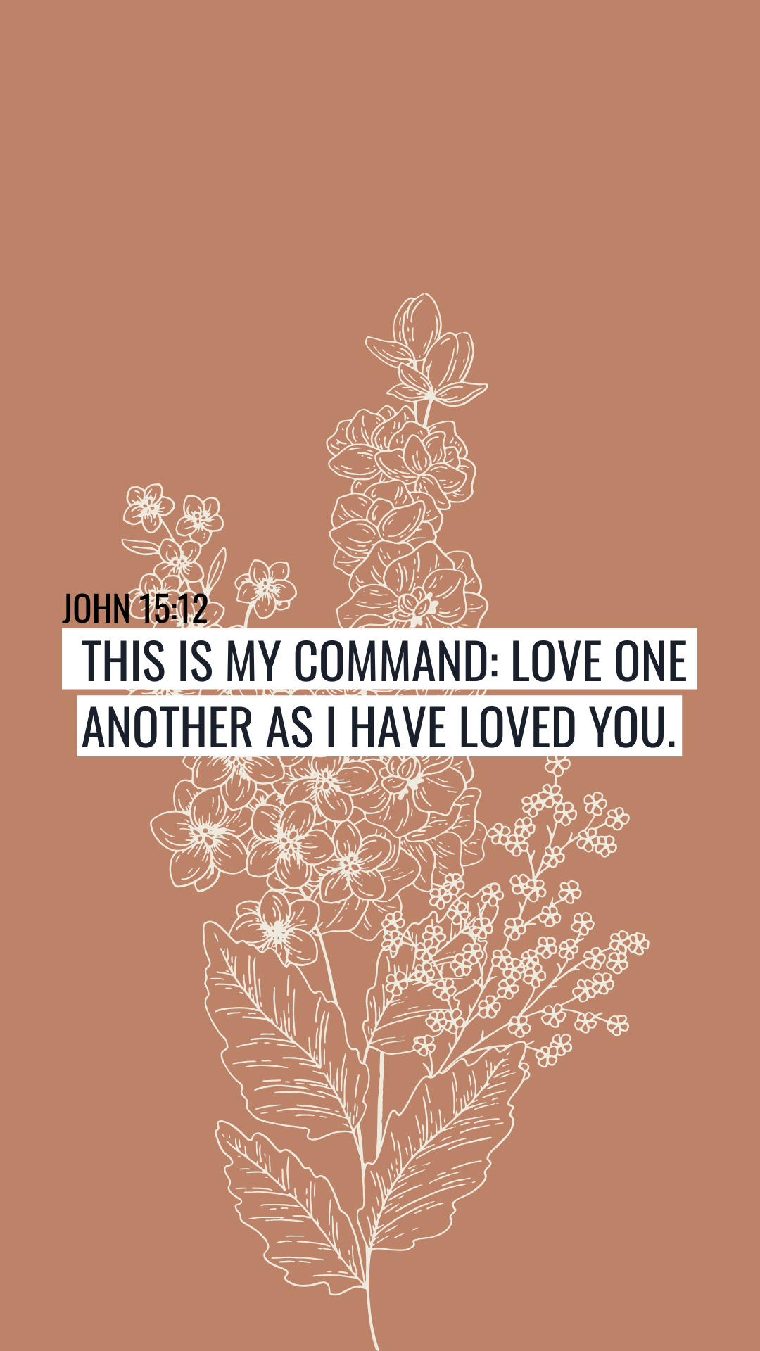 Christian Quote Wallpaper Christian Inspiration Background Love One Another Love One Another Quotes Love One Another Bible Christian Quotes