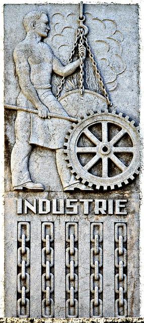 Industrie | Art deco, Industrial and Art deco art