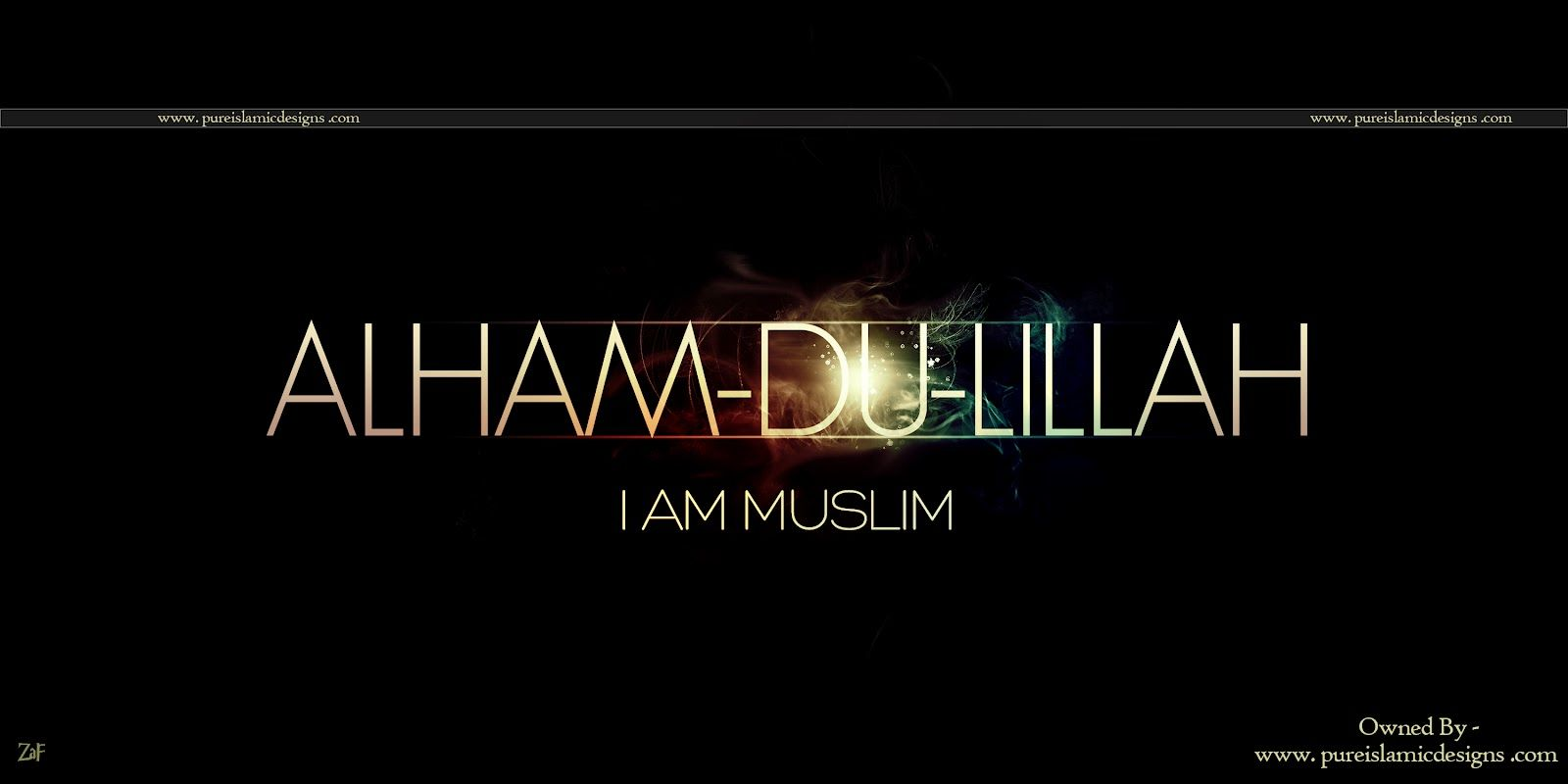 I AM MUSLIM! Alhamdulillah Islamic quotes, Fb timeline