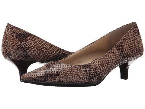Womens Shoes Calvin Klein Diema Classic Python Print Light Taupe