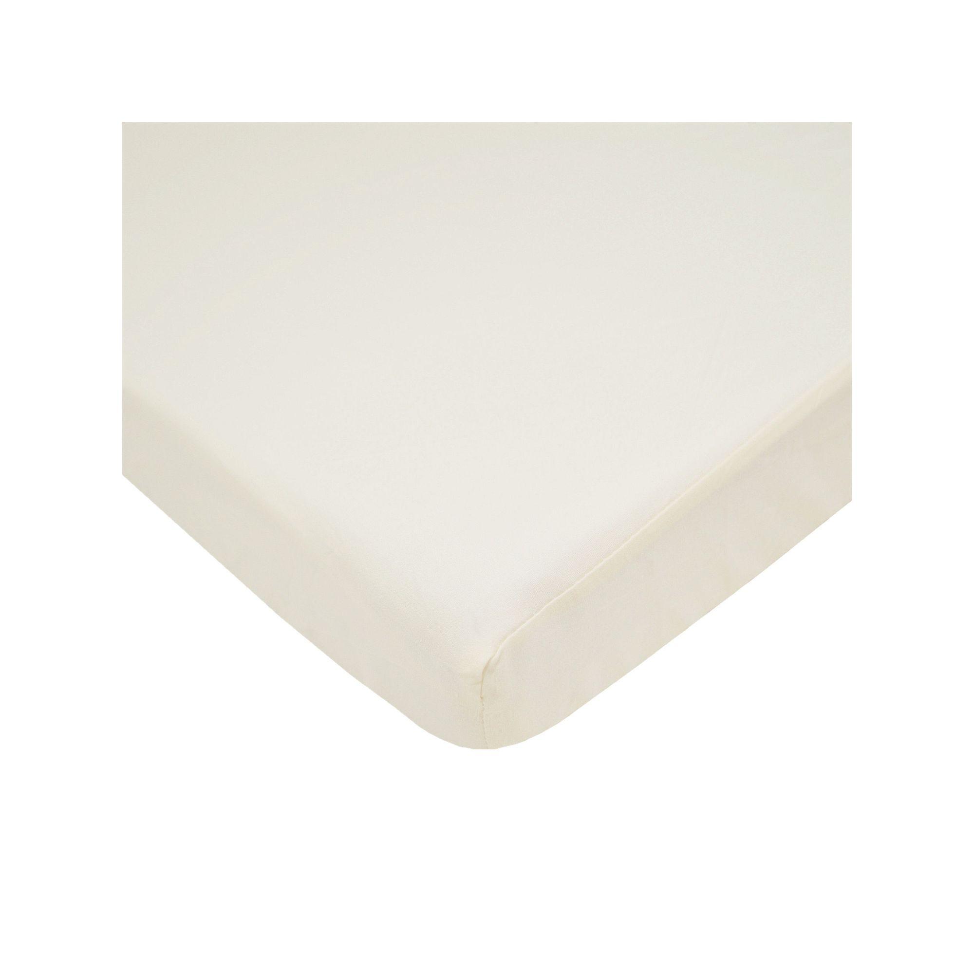Tl Care Crib Sheet, White