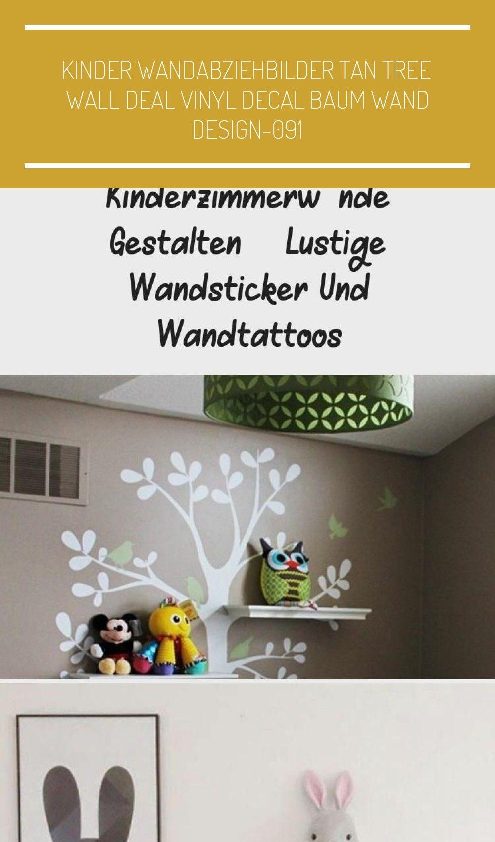 Kinderzimmerwände gestalten  lustige Wandsticker und Wandtattoos wandgestaltung eule