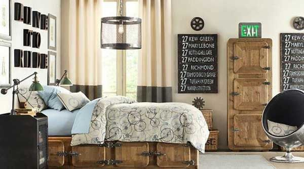 Industrial Chic Decorating Ideas | Industrial Bedroom Design By Interior  Exterior Ideas