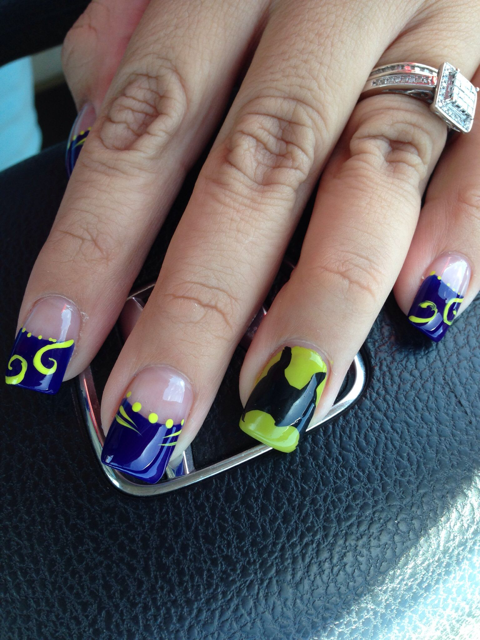Maleficent nails | MAKEUP, NAIL AND HAIR IDEAS | Pinterest
