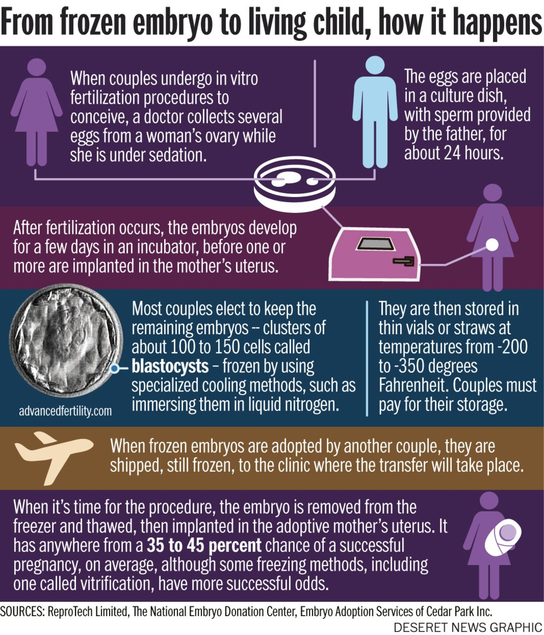Is Adoption The Answer To Unused Frozen Embryos Adoption Ovaries Sedation
