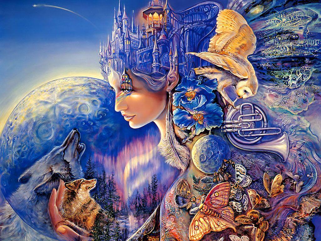 Josephine wall xxx pinterest josephine wall fantasy paintings