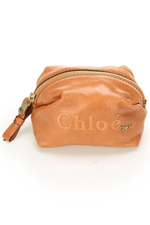 Chloe makeup bag