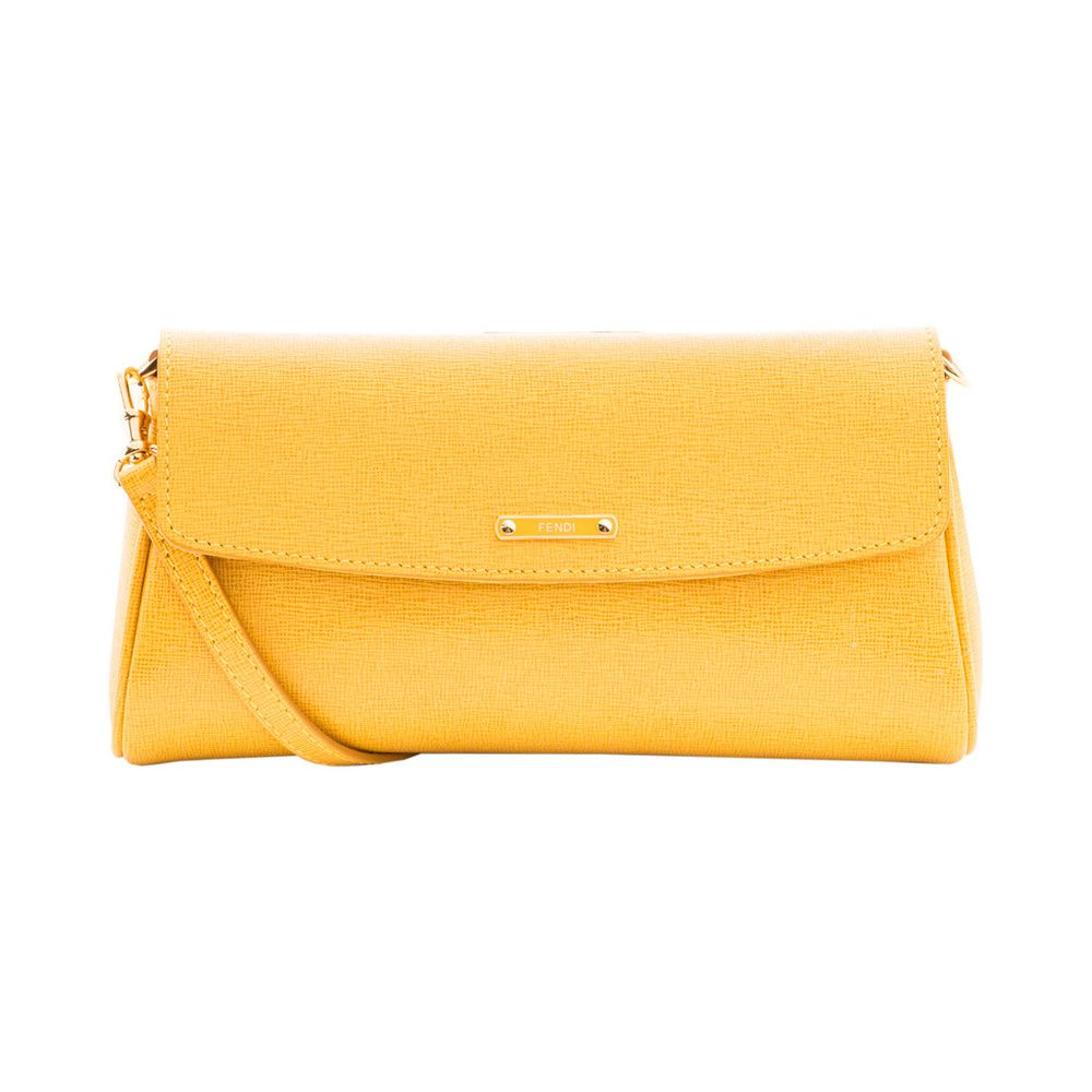 Fendi Yellow Crossbody
