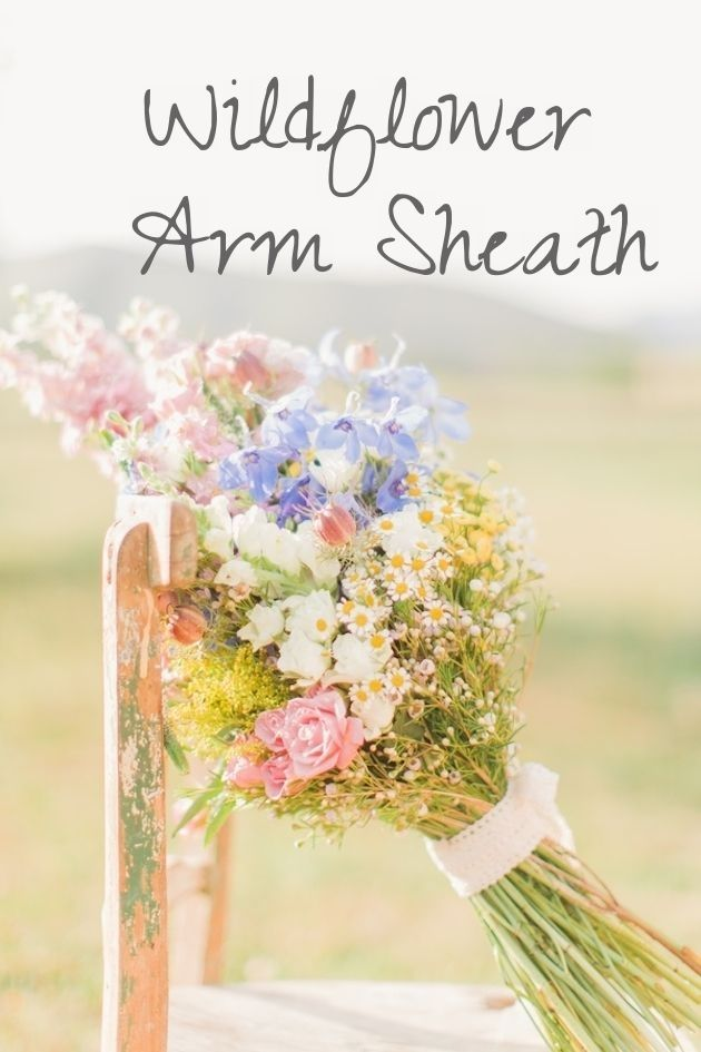 Wild Flower Arm Sheath -- bouquet types blog | Rustic Weddings ...