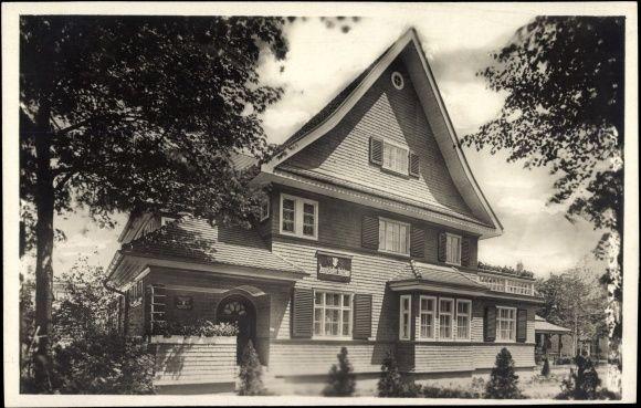 Holzhaus Dresden foto ak dresden jahresschau deutscher arbeit 1925 ingolstädter