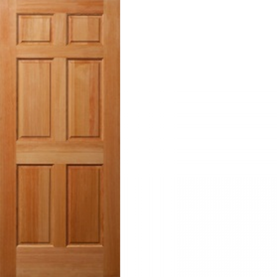 Solid Fir Wood 6 Panel Ovolo 3 4 Hip Raised Panel Interior Door Doors Interior Fir Wood Fire Doors