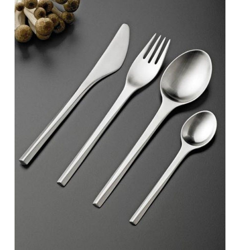 "Stelton ""Prisme"" cutlery (1960). Got it for Christmas :)"