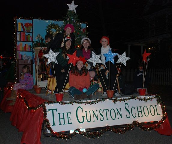 Christmas Night Parade Float: Gunston Takes 1st Place In The