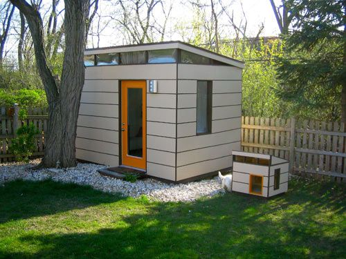 Studio and matching dog house probly going to need this for Architecture and design dog house