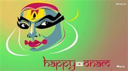 Happy Onam Painting Hd Wallpapergreetings Hd Wallpaper And Images