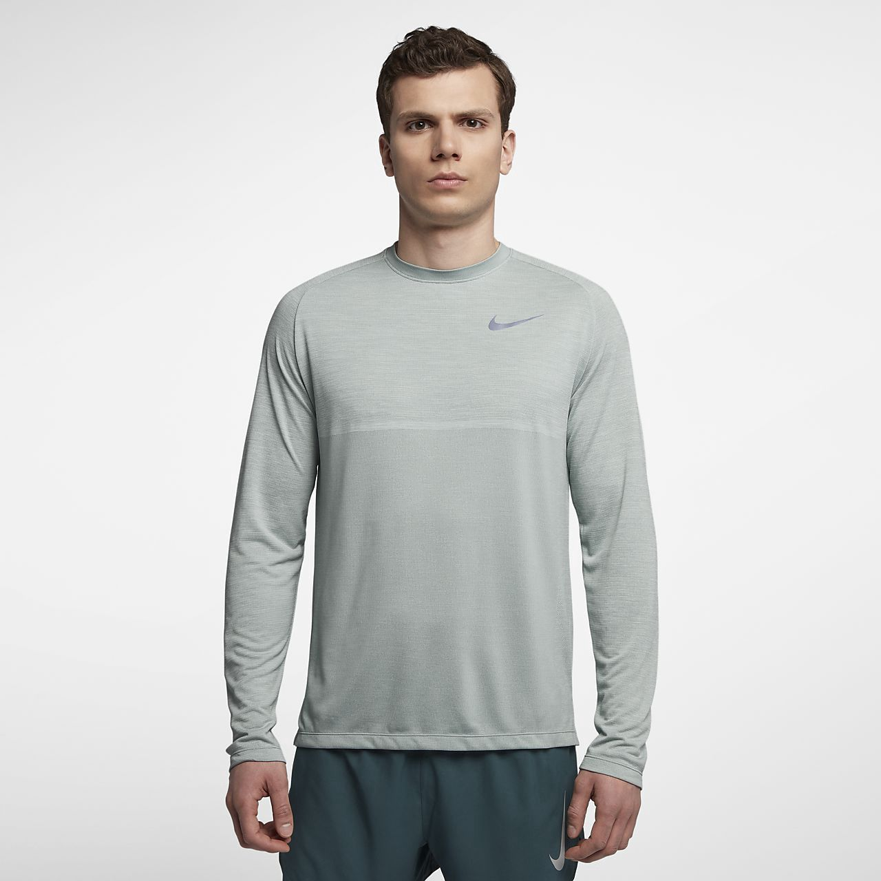 151c4d28 Nike Dri-Fit Medalist Men's Long Sleeve Running Top - M | Products ...