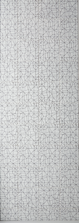 KELLY WEARSTLER X ANN SACKS.  'Maven Breakwater' ceramic tiles