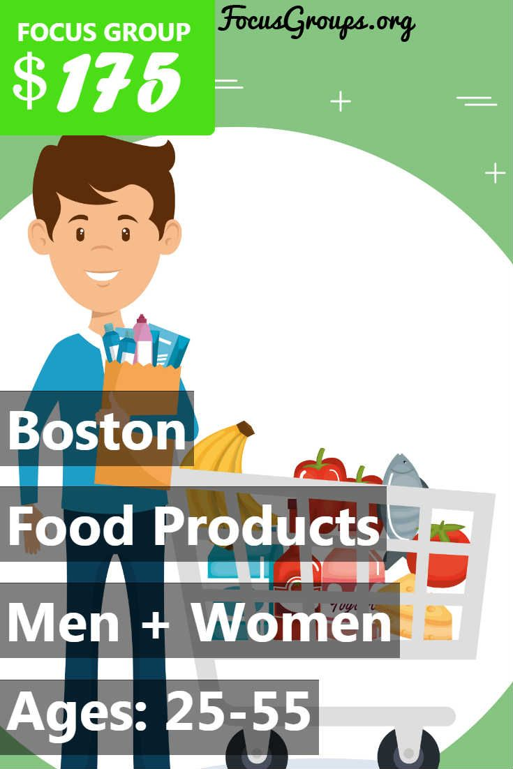 Focus Group On Food Products In Boston Focus Group Focus Homework Assignments