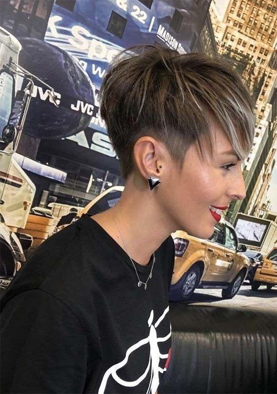 Pretty Ideas Of Short Pixie Haircuts Hairstyles In 2019 In 2020 Cute Hairstyles For Short Hair Short Hair Styles Pixie Short Pixie Haircuts
