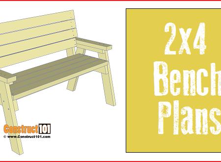 2x4 Bench Plans Free Pdf Download Creative Pinterest Bench