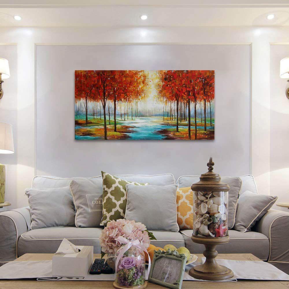 Amazon Com Beach Themed Wall Art Painting Canvas Artwork Decor
