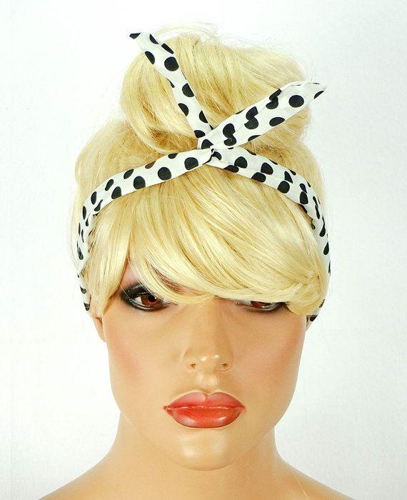 Dolly Bow Snow White Wire Headband