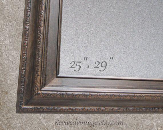 Unique DRY ERASE BOARD For Sale Oil Rubbed Bronze Framed Magnetic ...