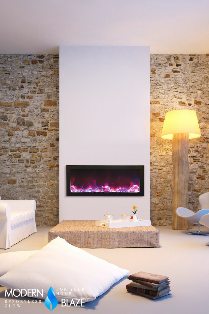 Electric Fireplace Built Into Wall Amantii Panorama Deep 40 Built In Indoor Outdoor Electric