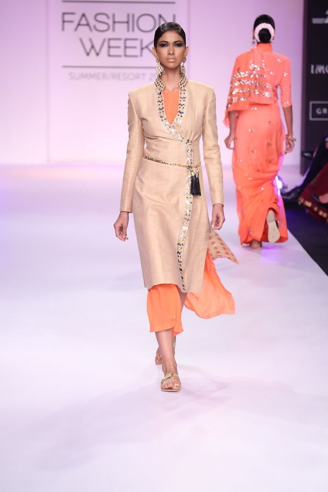 Neeta Lulla - India Lakme Fashion Week SR14