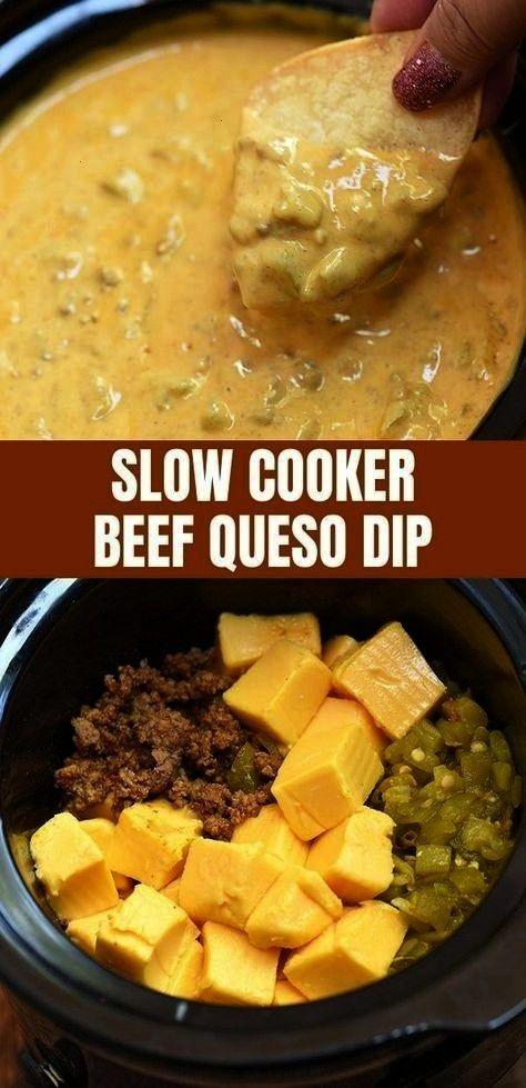 Beef Queso Dip is gemakkelijk te maken met eenvoudige pantry-ingrediënten en in ...  - Thermomix -
