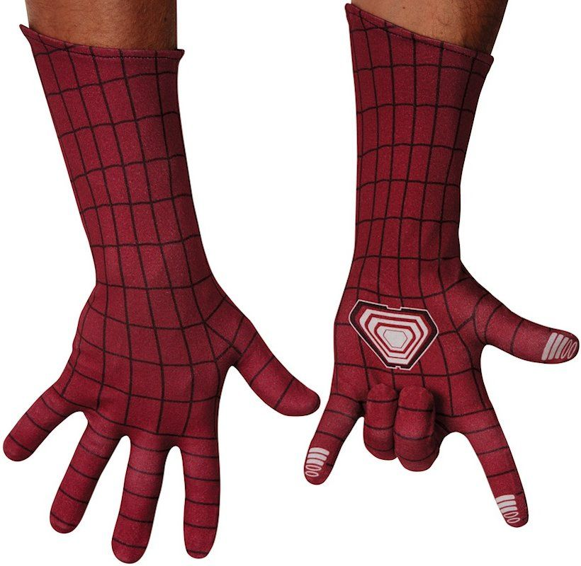 4b630b6b48900 ON SALE - Spider-man Movie Deluxe Adult Costume Gloves | Halloween ...