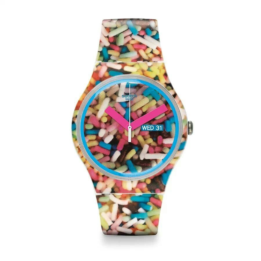 Swatch 'Sprinkled' RRP £44.50 shop.swatch.com