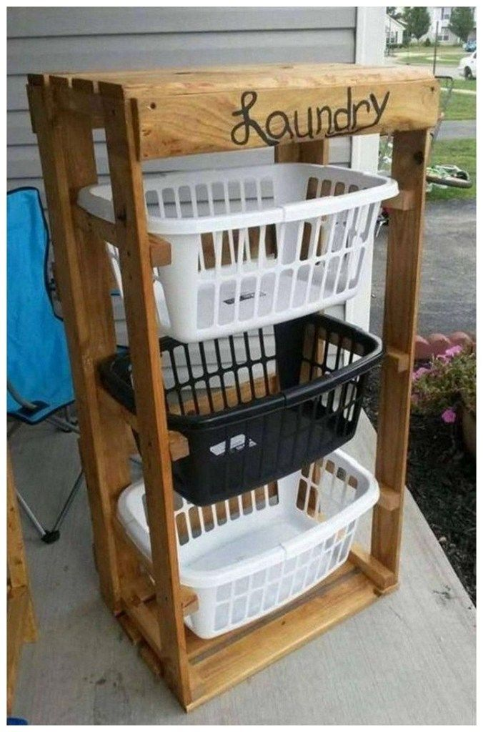 40 diy furniture projects and housewares 5 | Pallet decor